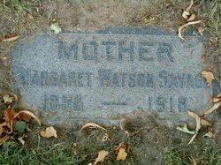 Margaret Ann <I>Watson</I> Savage
