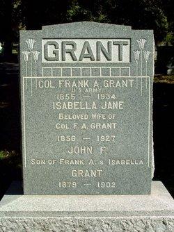 Col Frank A Grant