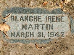 Blanche Irene Martin