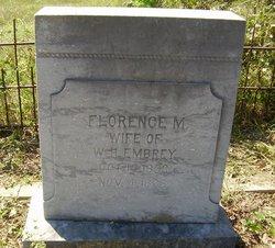 Florence M. <I>Rector</I> Embrey