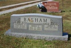 Kathleen <I>McClure</I> Basham