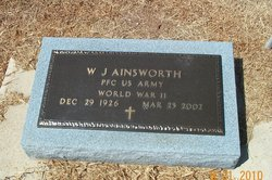W J Ainsworth