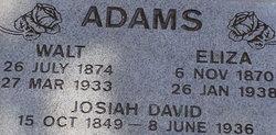 "Clyde Walter ""Walt"" Adams"