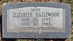 Elizabeth <I>Reimer</I> Hazlewood