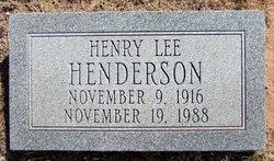 Henry Lee Henderson