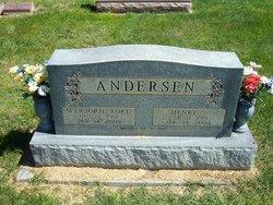 Marjorie Evelyn <I>Ford</I> Andersen