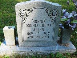 Donnie Louise <I>Dodd</I> Allen