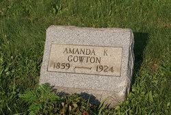 Amanda K <I>Smith</I> Gowton
