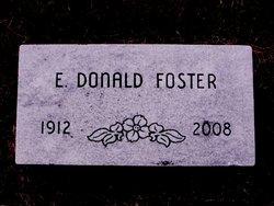 """Edgar Donald """"Donald"""" Foster"""