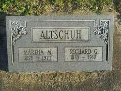 "Richard G ""Dick"" Altschuh"