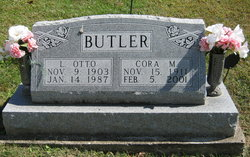 Cora Maude <I>Deeds</I> Butler