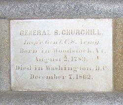 Gen Sylvester Churchill