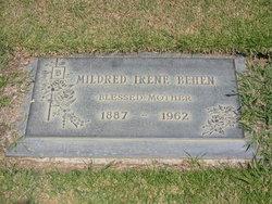 """Mildred Irene """"Millie"""" <I>Black</I> Behen"""