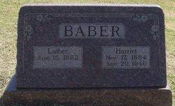 Harriet <I>Fisk</I> Baber