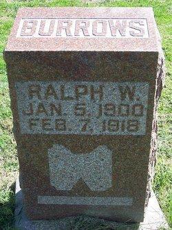 Ralph William Burrows