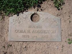 Cora <I>Horn</I> Addington