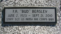"""Francis A """"Bud"""" Beasley"""
