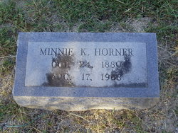 Minnie <I>King</I> Horner
