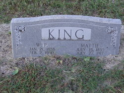 Mattie Sofa <I>Vaughn</I> King