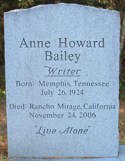 Anne Howard Bailey