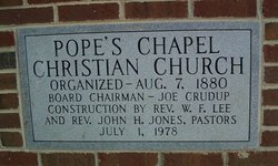 Popes Chapel United Church of Christ #2 Cemetery
