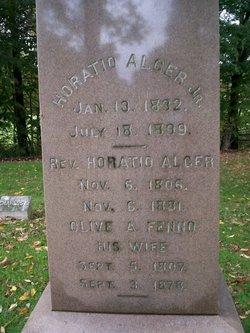 Rev Horatio Alger, Sr