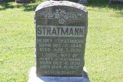 """Ernst Heinrich """"Henry"""" Stratmann"""