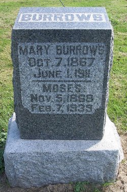 Mary <I>Green</I> Burrows