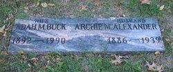 Adah M. <I>Buck</I> Alexander