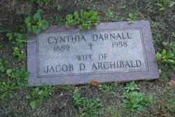 Cynthia V <I>Darnall</I> Archibald