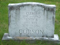 Edith B <I>Avery</I> Corson