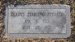 Gladys Moore <I>Starling</I> Aydlett