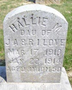 Hallie M Love