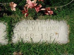 Ada Mary <I>Lowe</I> Lemmon
