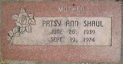 Patsy Ann <I>Ward</I> Shaul
