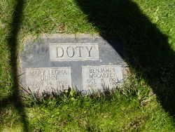 Mary Leona <I>Dunn</I> Doty