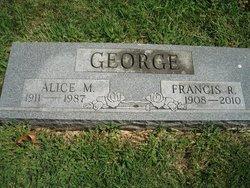 Alice M George