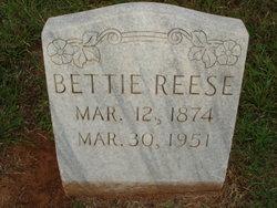 "Nancy Elizabeth ""Betty"" <I>Daniel</I> Reese"