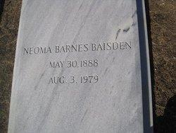 Neoma <I>Barnes</I> Baisden