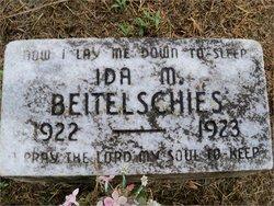Ida M. Beitelschies