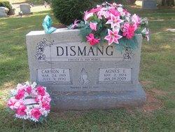 Agnes E <I>Williams</I> Dismang