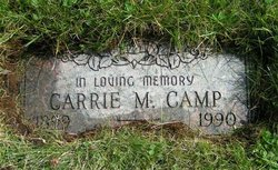 Carrie M <I>Hinrichs</I> Camp
