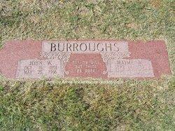 Mayme Maxine <I>Lummus</I> Burroughs