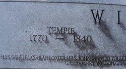 Tempie <I>Bradshaw</I> Wilson