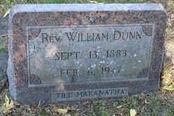 Rev William Benjamin Dunn