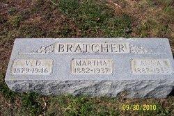 Anna <I>McClure</I> Bratcher