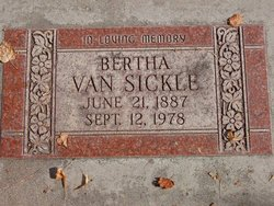 Bertha Van Sickle