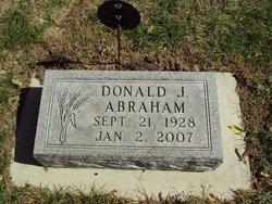 Donald John Abraham