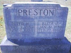 Peter Melvin Preston