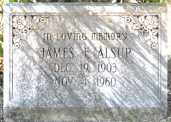 "James Fred ""Buddy"" Alsup"